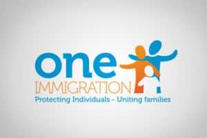 one immigration logo design